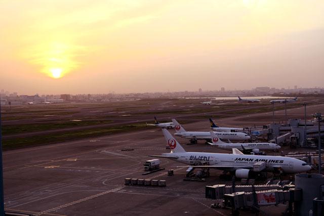 羽田空港で撮影した飛行機(5)