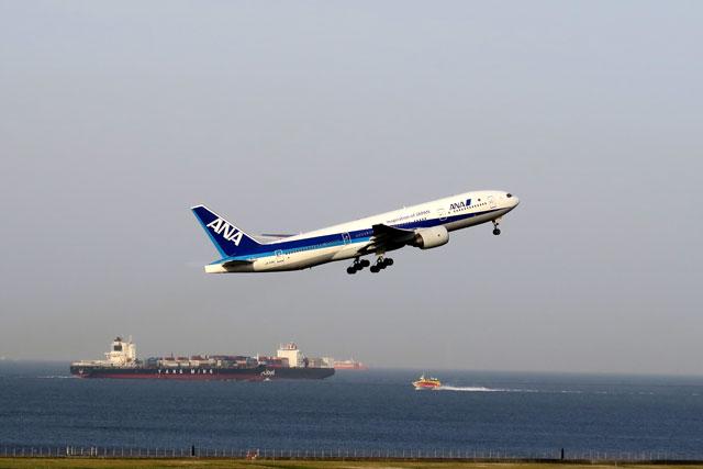 羽田空港で撮影した飛行機(2)