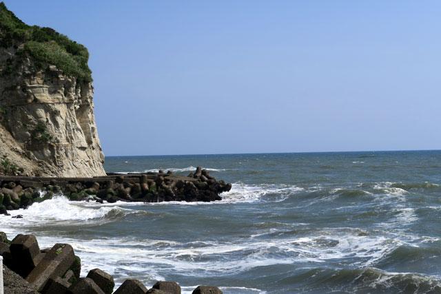 太東崎の海