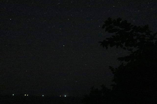 城ケ島公園で見た星空(1)