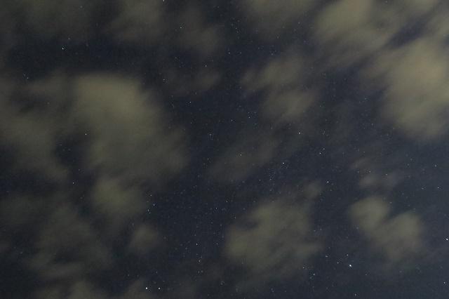 城ケ島公園で見た星空(2)