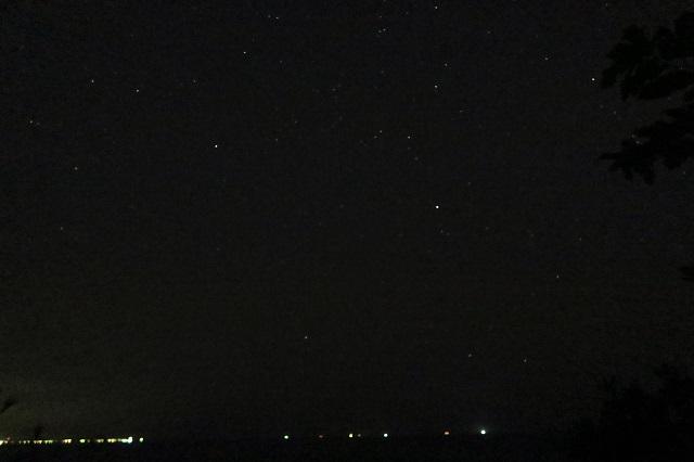 城ケ島公園で見た星空(3)