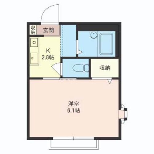コルレット田中A 1号室
