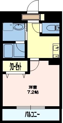 3号室間取り