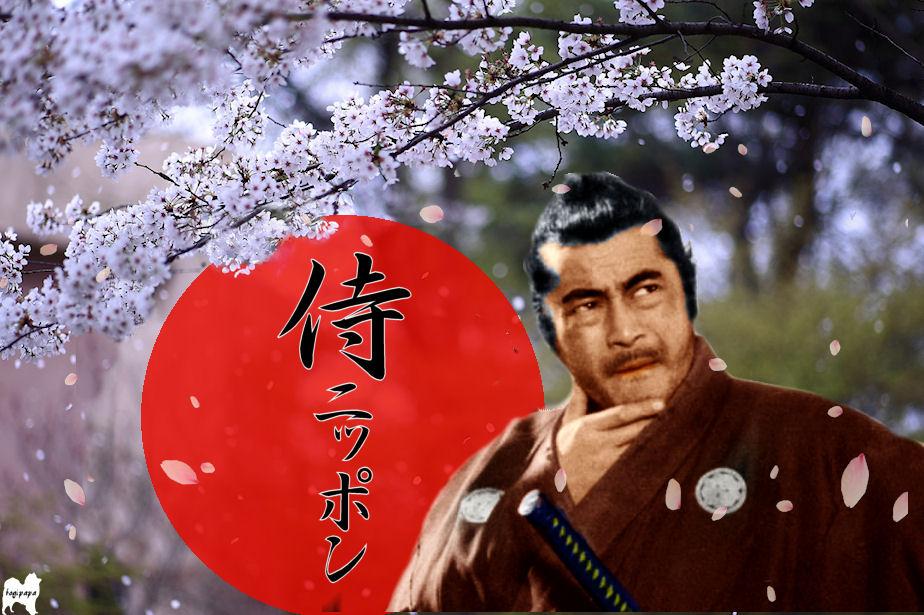 侍ニッポン ♪ 合成
