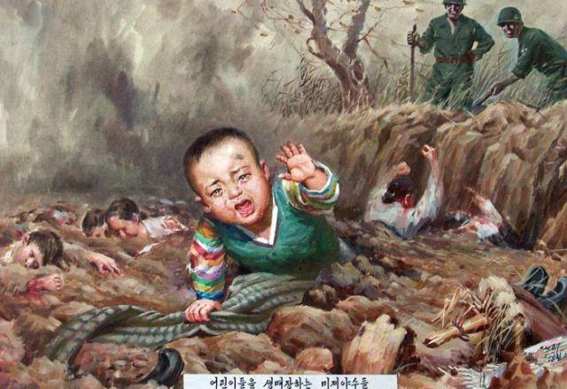 北朝鮮の宣伝画 5