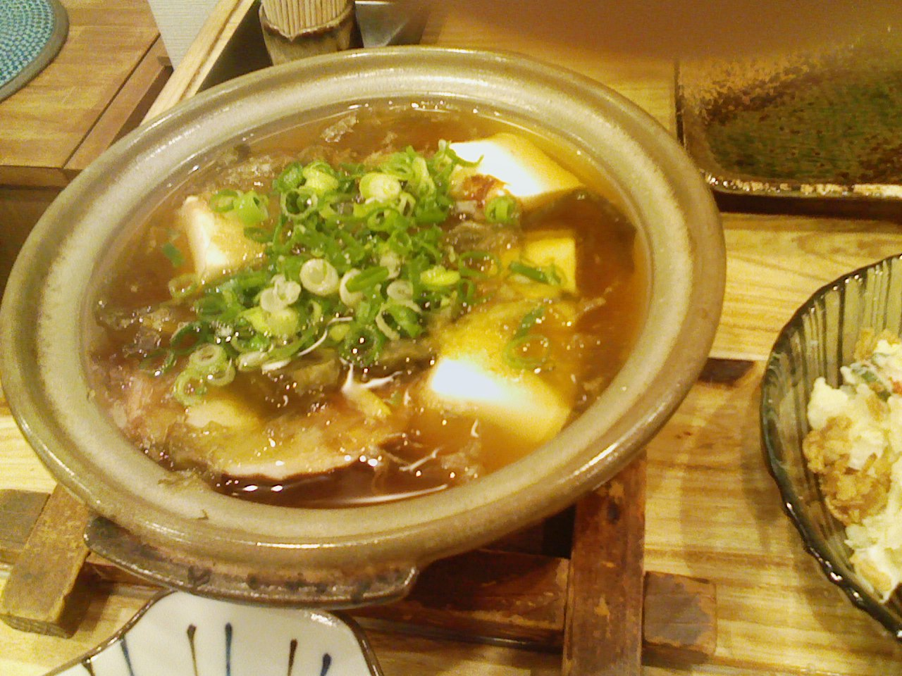 「もりもと」湯豆腐
