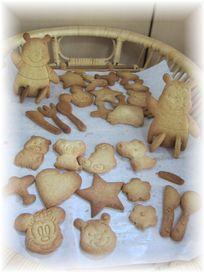 160808 お子さまパン教室 クッキー