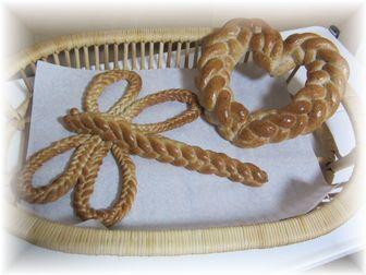 161004 飾りパン(編みパン)
