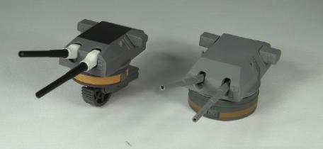ビルマルク比較艤装2