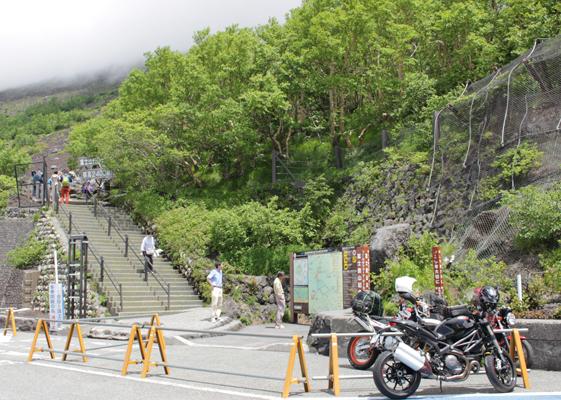 富士山五合目標高2400m