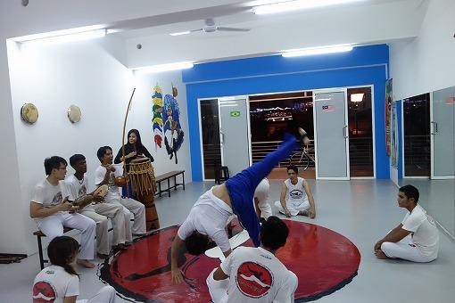「Capoeira Camara Malaysia訪問 2014年1月」