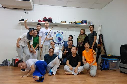 AÚ Capoeira Malaysiaみなさんと