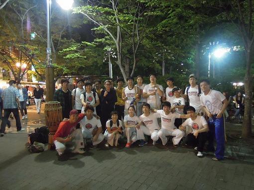 Capoeira Muzenza Seoul訪問201205