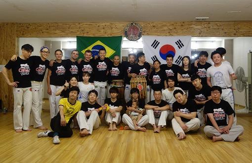 Capoeira Muzenza Koreia!!