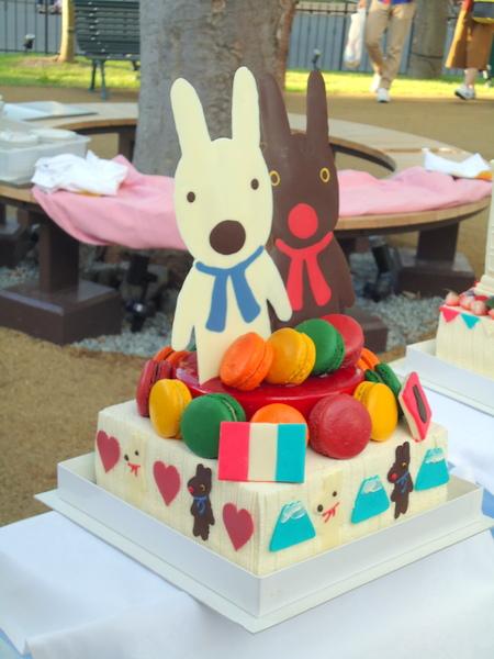 ブリオッシュさん原案ケーキ