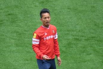我らが新キャプテン、田口泰士。