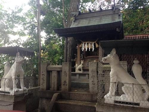 白山神社摂社光徳稲荷神社