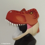 かぶりものティラノサウルス
