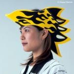 阪神タイガース応援グッズかぶりもの帽子「カブリエール!」