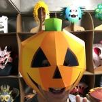 ハロウィンかぼちゃカブリモノ