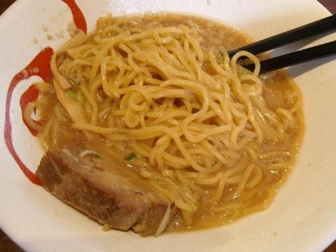 風伯・H27・7 魚介豚骨しょうゆ 麺