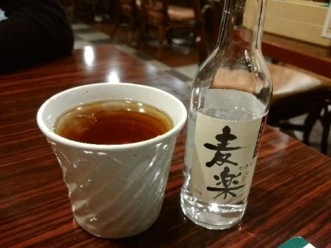 ガスト東三条店・H28・4 麦焼酎
