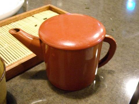 蕎麦割烹麦・H28・4 そば湯
