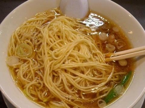 製麺屋食堂・H27・10 中華そば 麺