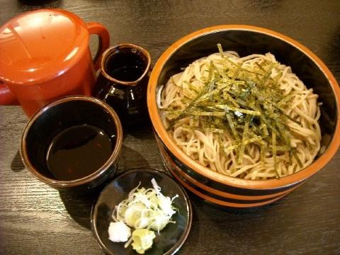 草笛・H27・11 ざる蕎麦