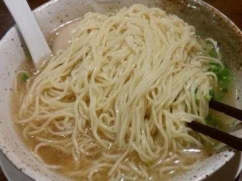 吉風・H28・8 らーめんあっさり 麺