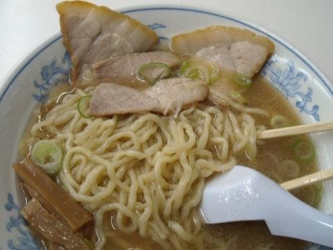 オーモリ新井店・H27・11 ラーメン 麺