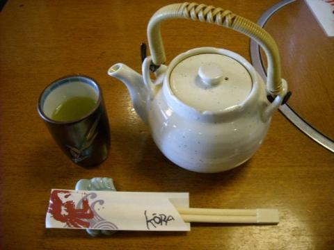 甲羅屋本店・H28・1 お茶