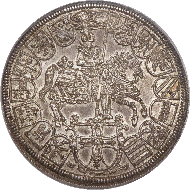 Teutonic OrderMaximilian 3 Taler 1614 MS62 2