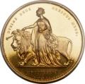 Una the Lion 5 Pounds 1839 PR2