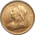 Victoria gold 5 Pounds 1893