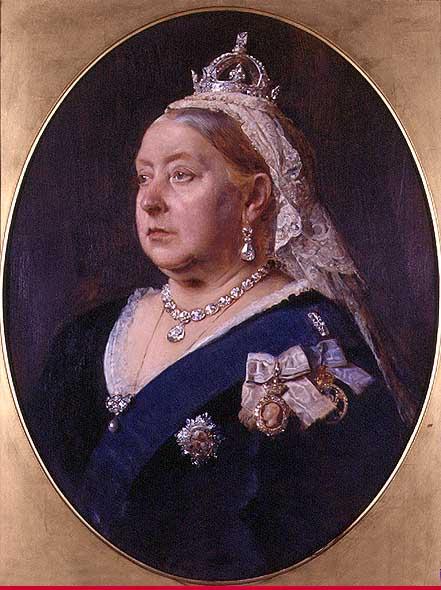 ヴィクトリア女王 肖像画