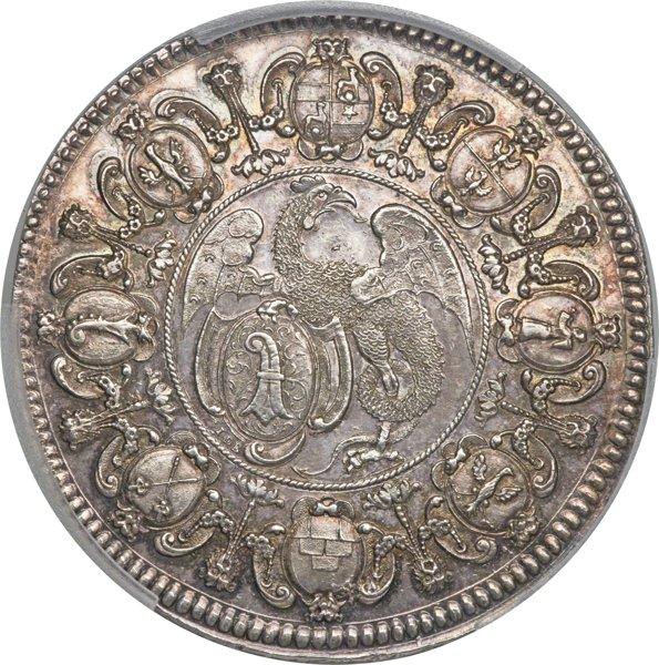 バーゼル メダリック2ターラー銀貨
