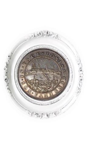 スイス・バーゼル 2ターレル銀貨 ND(1710 )