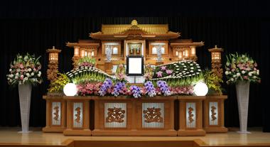 スナップ 花祭壇 豊川 花屋 花夢