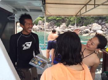 免許、タオ島、ダイビング