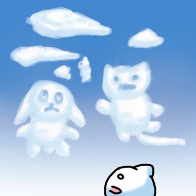 ネコバ雲 1