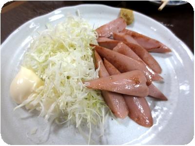 魚肉ソーセージ炒め