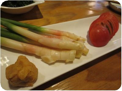 谷中生姜とトマト
