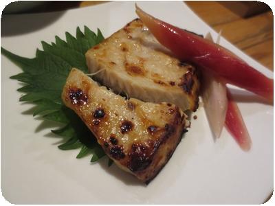 メカジキの西京焼き
