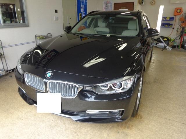 BMW320Dツーリング黒