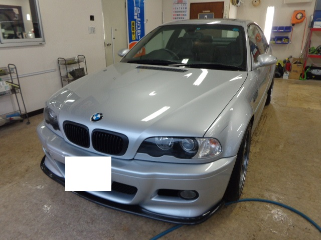 BMW M3シルバー
