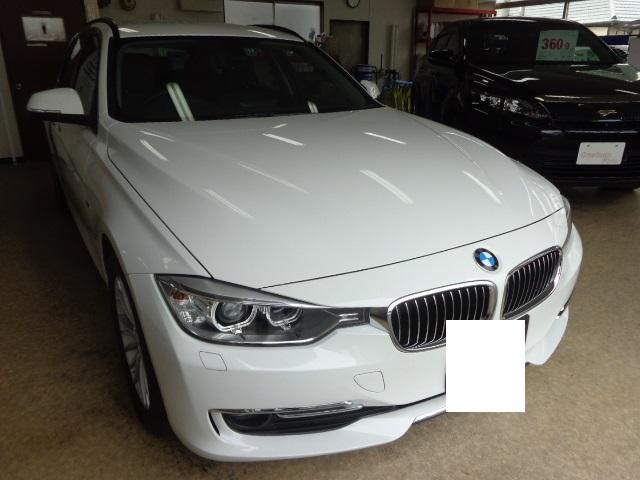 BMW320dツーリングしろ