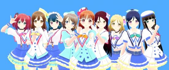 青空Jumping Heart Aqours