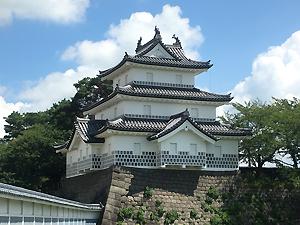 新発田城。